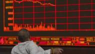 Börse Schanghai im Blick