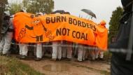 Klima-Aktivisten in Nordrhein-Westfalen