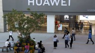 Ein Huawei-Store in Peking