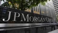 JP Morgan ist die größte Bank der Vereinigten Staaten.