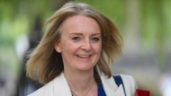 Liz Truss, britische Ministerin für internationalen Handel