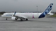 Der längste Mittelstreckenjet A321 Neo in Paris: Der Flieger wird künftig auch in Toulouse gebaut.