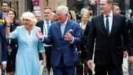 Hoher Besuch: Erst vor wenigen Tagen führte Jung Prinz Charles und seine Frau Camilla durch die Stadt.