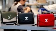 Louis Vuitton-Handtaschen im Werk in Beaulieu-sur-Layon