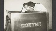 Goethe und Schillers kahle Überreste