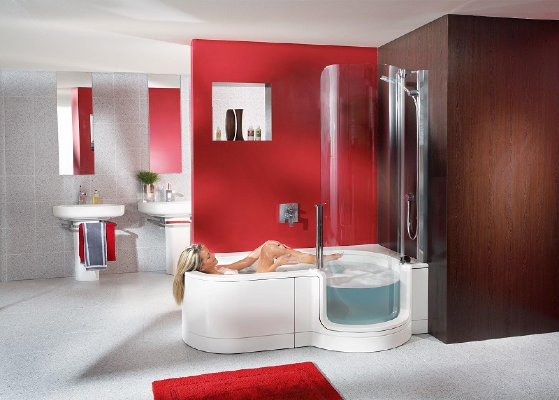 Dusch Badwannen Kombination Die Badewanne Der Zukunft 50 Plus Wohn Lebensqualitat Faz