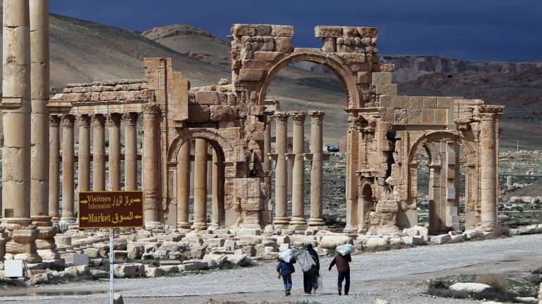 estado islamico palmyra patrimonio de la humanidad