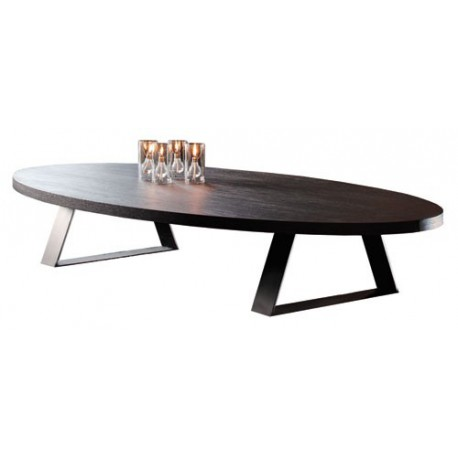 table basse ovale trevise ovale ph collection 9 finitions au choix