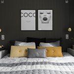 Doppelbett Und Nachtkastchen Im Bild Kaufen 12550234 Living4media