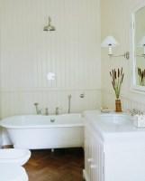 Weisses Bad im Landhausstil mit … – Bild kaufen – 11213664 ...