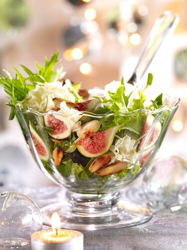 Christmas fig salad