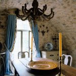 Old Arched Ceiling In Rustic Dining Room Buy Image 706699 Living4media