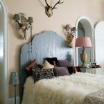 White Fur Blanket On French Bed With Buy Image 11248691 Living4media
