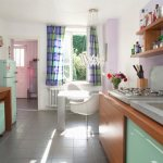 Retro Kitchen Wooden Cabinets With Buy Image 11374361 Living4media