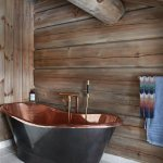 Free Standing Copper Bathtub In Bathroom Buy Image 12683041 Living4media