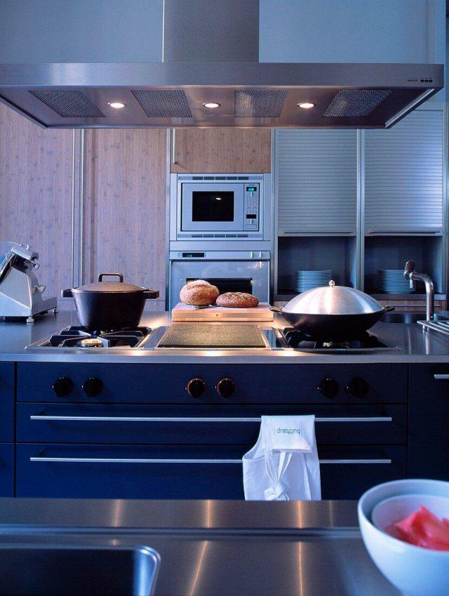 Küche mit Gasherd und Einbaugeräten – Bild kaufen – 287833 ...