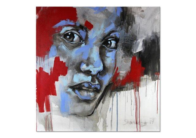 1 400 Portrait Abstrakt Bilder Und Ideen Auf Kunstnet