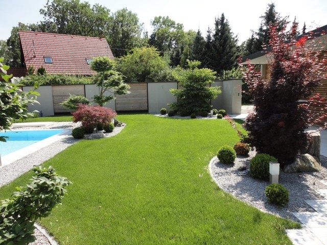 Garten mit wenig Arbeit   Wels & Wels Land