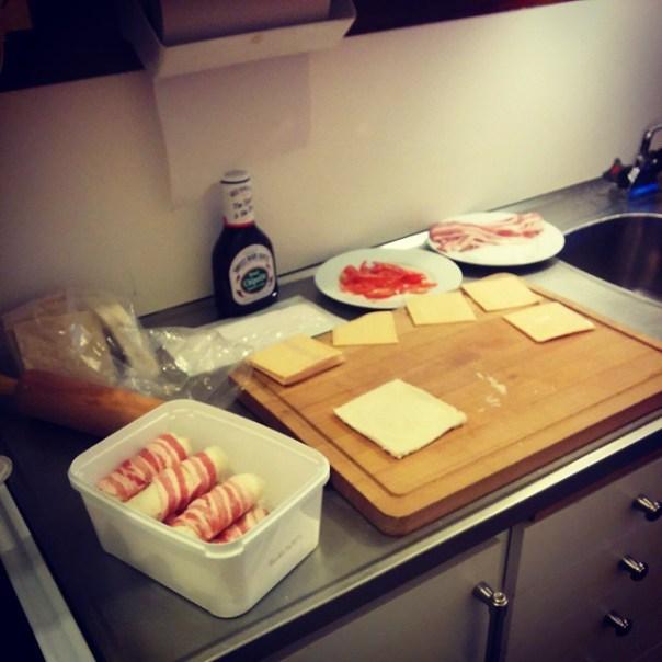 Förberedelserna är i full gång! #grill #fiska #vikmanshyttan