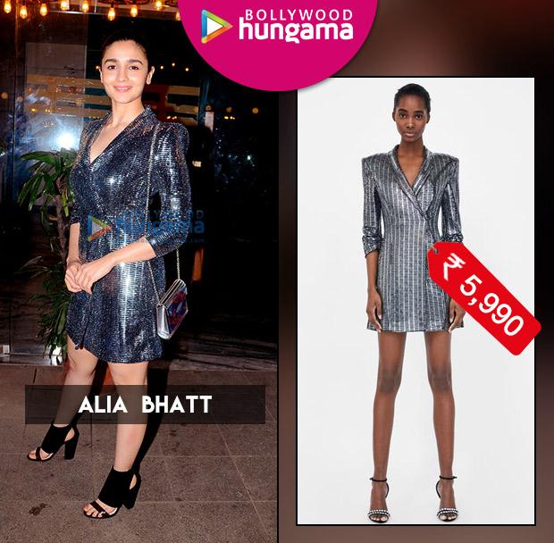 Weekly Celebrity Splurges - Alia Bhatt