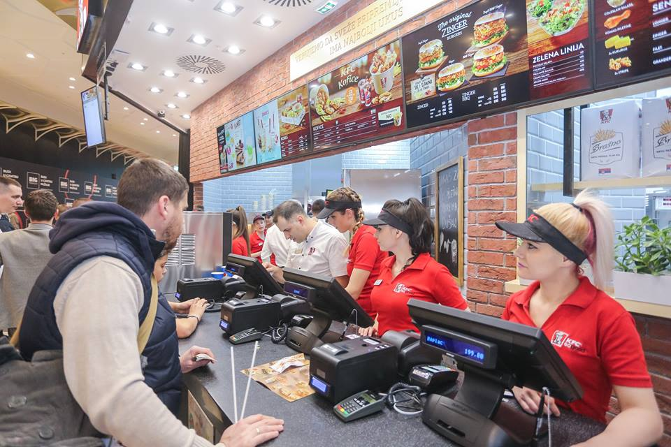 Studentsko omladinska zadruga BOX Poslovi - KFC