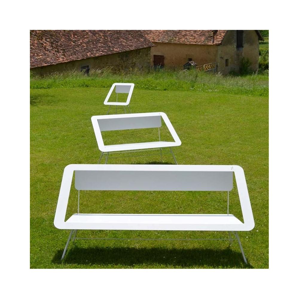 banc de jardin design