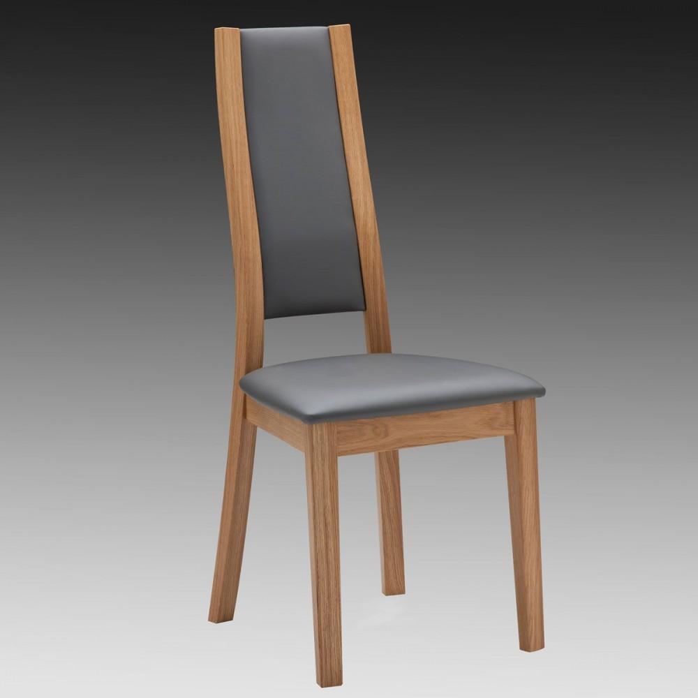 chaise en chene moderne