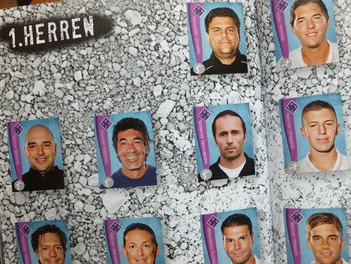 Wie die Großen! HEBC als Fußball-Sticker-Album!