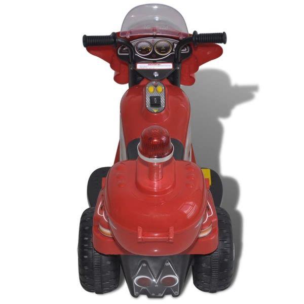 vidaXL Åkmotorcykel batteridriven röd