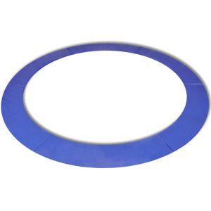 vidaXL Kantskydd PE blå för 14 fot/4,26 m rund studsmatta