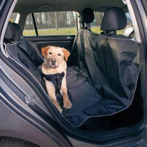 TRIXIE Baksätesskydd för hund 160×145 cm svart 13472