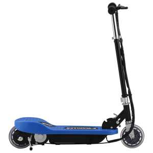 vidaXL Elektrisk sparkcykel 120 W blå