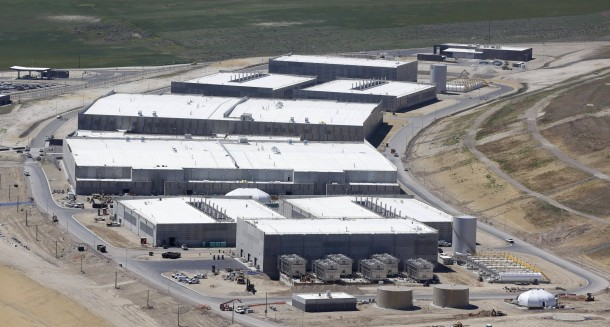 Noch im Bau: Das riesige Data-Center der NSA in Utah, wahrscheinlich das größte der Welt