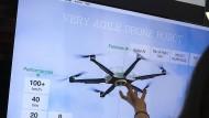 Drohne von Rüstungselektronikhersteller Hensoldt