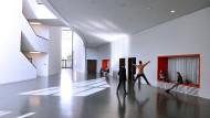 Zum Diskussionsraum geworden: die Staatliche Ballettschule Berlin