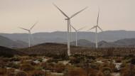 Windturbinen von Siemens in Kalifornien