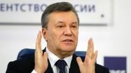 Bleibt trotz des Urteils des EU-Gerichts auf der Brüsseler Sanktionsliste: Viktor Janukowitsch, der frühere Präsident der Ukraine