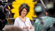 Annalena Baerbock am 10. Juni bei einem Interview