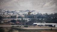Das Jordantal in den palästinensischen Autonomiegebieten