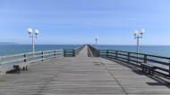 Für die einen ein Ausblick zum Träumen, für die anderen spießige Monotonie: Die Seebrücke von Binz auf Rügen