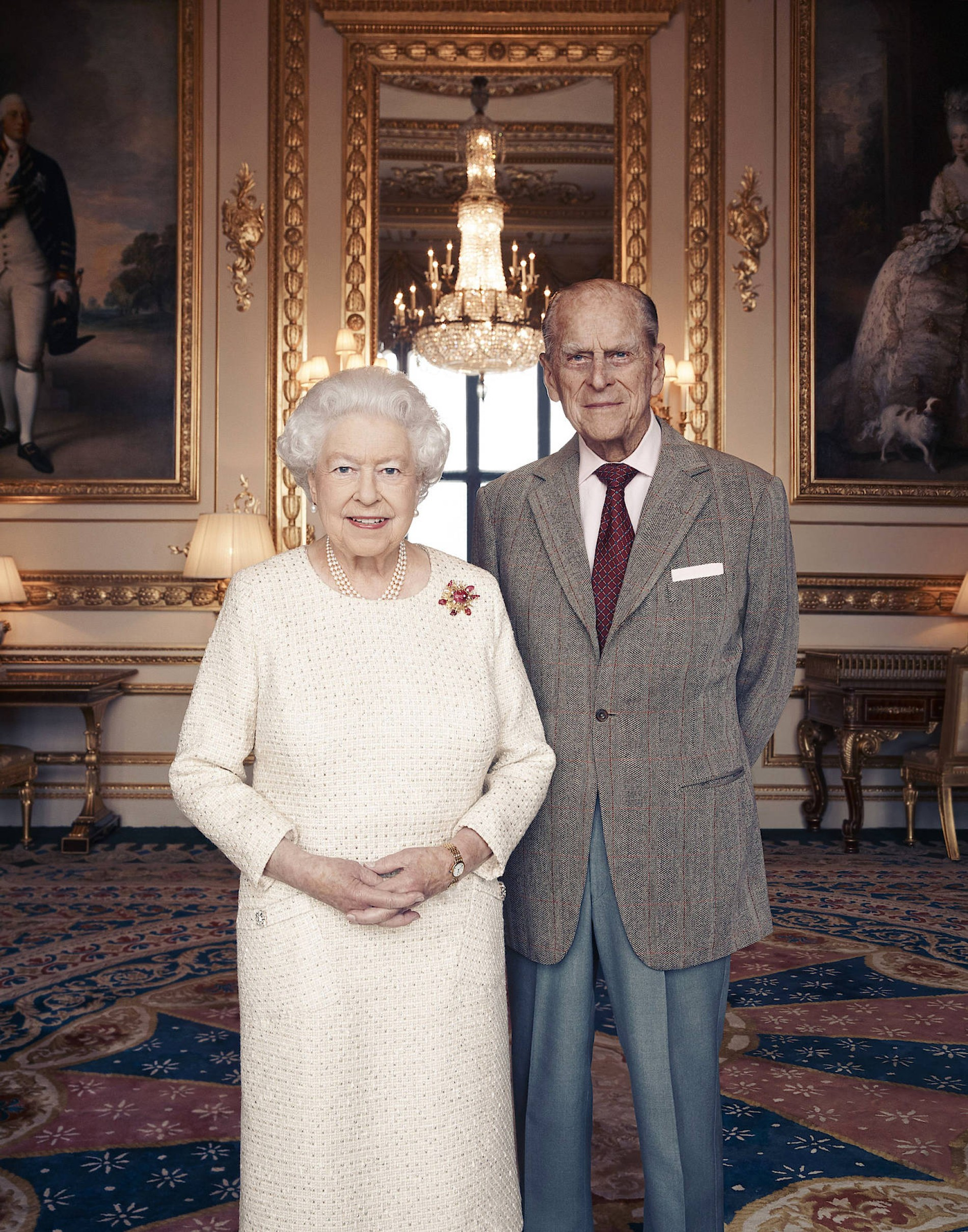 Queen Elizabeth Ii Prince Philip Hochzeit Wedding 20