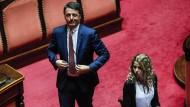 """""""Verschrotter"""" gegen """"Planierraupe"""": Renzi am Dienstag im italienischen Senat"""