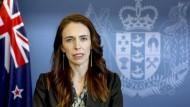 Neuseelands Premierministerin Jacinda Ardern Mitte September