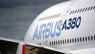 Schon seit längerem das Sorgenkind von Airbus: der A380