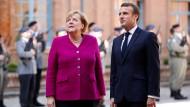 Merkel und Macron am Mittwoch in Toulouse