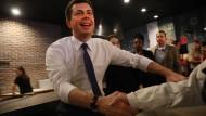 Pete Buttigieg will für die Demokraten in den Präsidentschafts-Wahlkampf ziehen