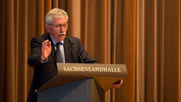 Lesung von Thilo Sarrazin in Glauchau