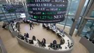 Technologie-Unternehmen sind im Trend an der Pariser Börse Euronext