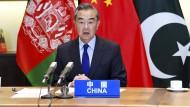 Appelliert an das Verantwortungsbewusstsein der Taliban: Der chinesische Außenminister Wang Yi