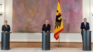 Bundespräsident, Gewerkschaften und Arbeitgeber raten zum Homeoffice